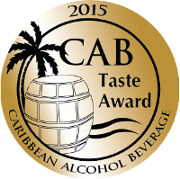 Taste Award 2015 - Caribbean Alcohol Beverage